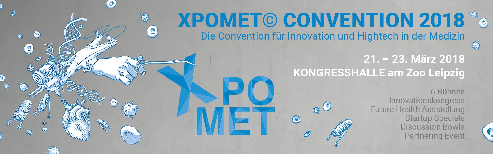 Xpomet Leipzig mit conpega